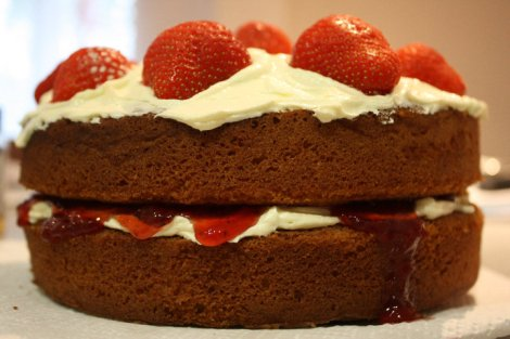 Strawberry Victoria Sandwich