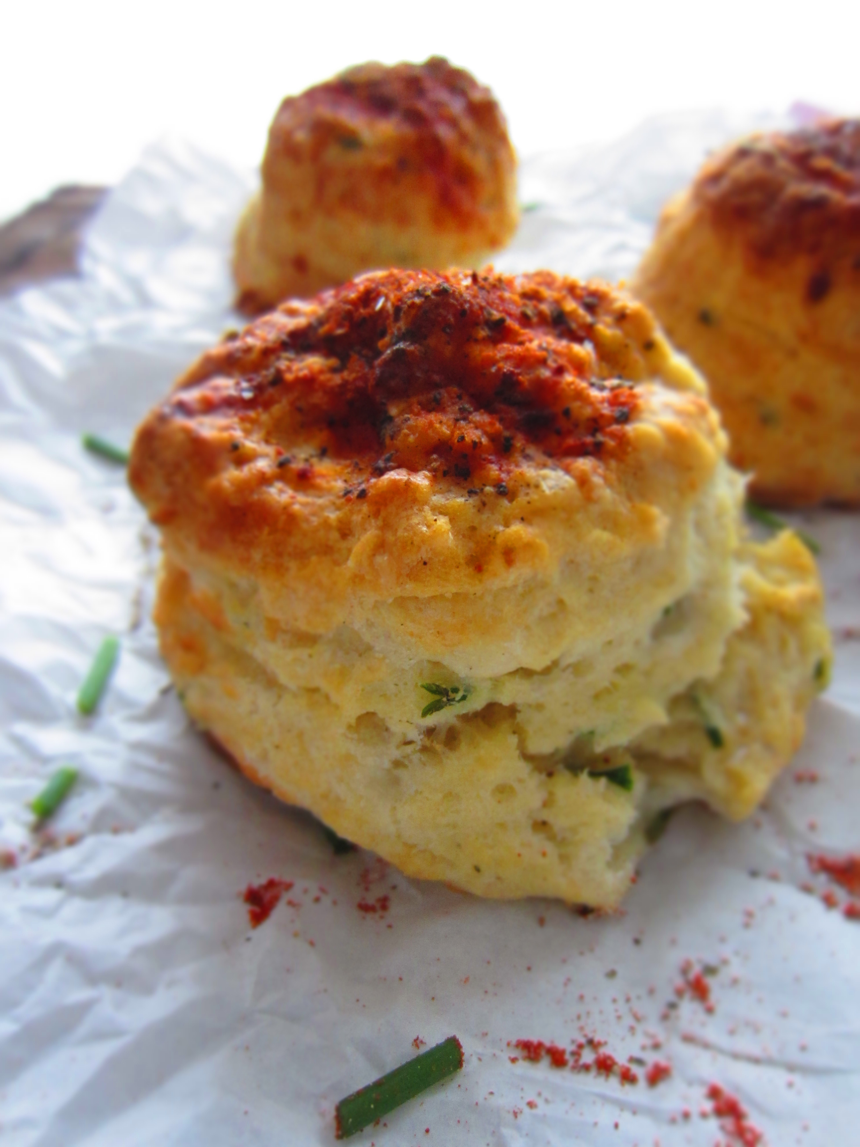 Goats Cheese & Chive Scones | Roswensian