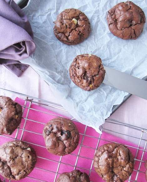Black Forest Chocolate Cookies