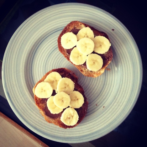 Toasted Brioche, Nutella & Banana