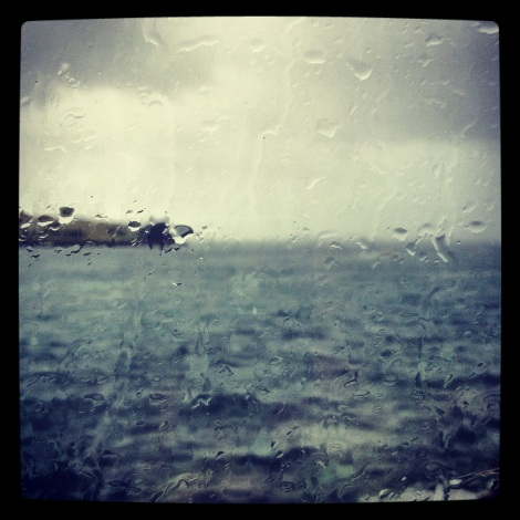 St Mawes - Sadly not my view right now, rain is acceptable when the view is that good.