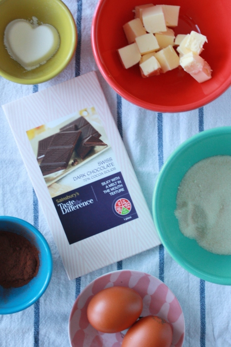 Chocolate Fondants Ingredients