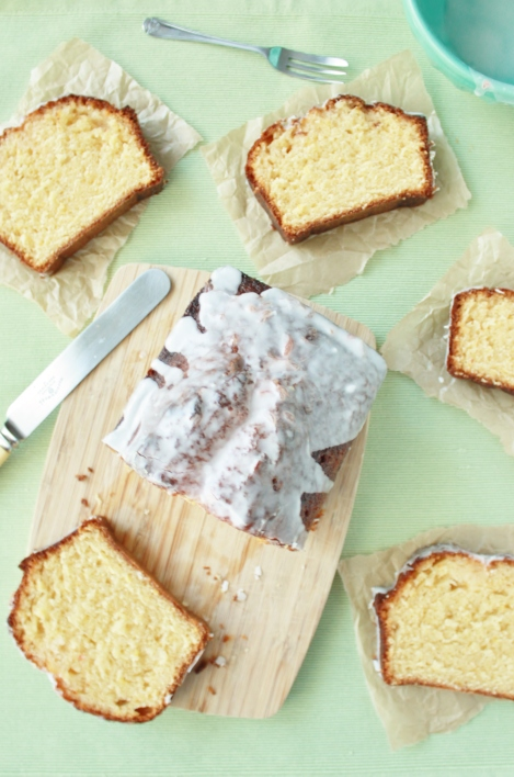 Grapefruit Olive Oil Loaf Cake