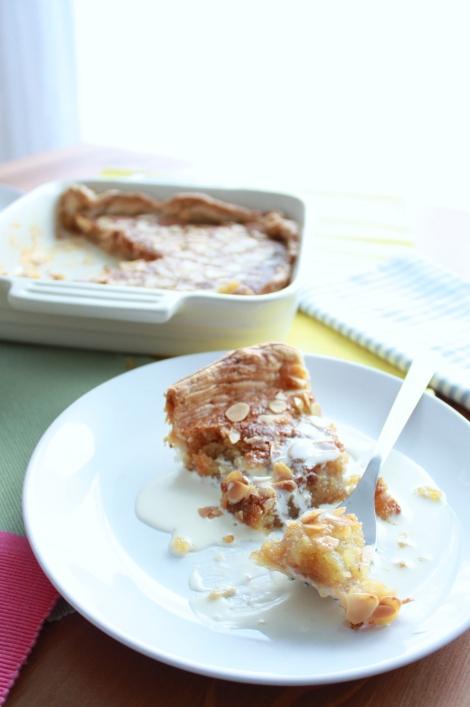 Rhubarb and Ginger Tart